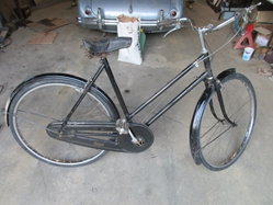 1940 Raleigh Tourist Lady's Three-Speed Bicycle, Original