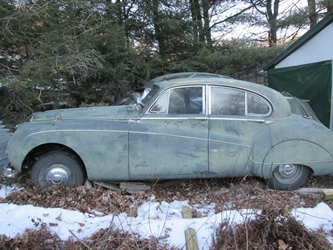 1958 Jaguar Mark VIII Saloon Project