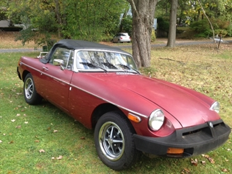 1977 MGB Roadster, Good Driver, PRICE REDUCED!