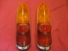 Austin A40 Tail Lamp Pair