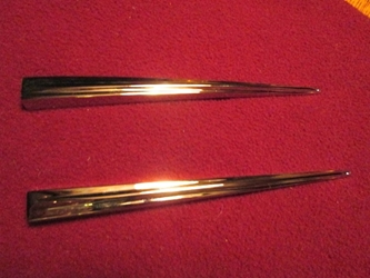 Chrome Headlamp Spear Pair