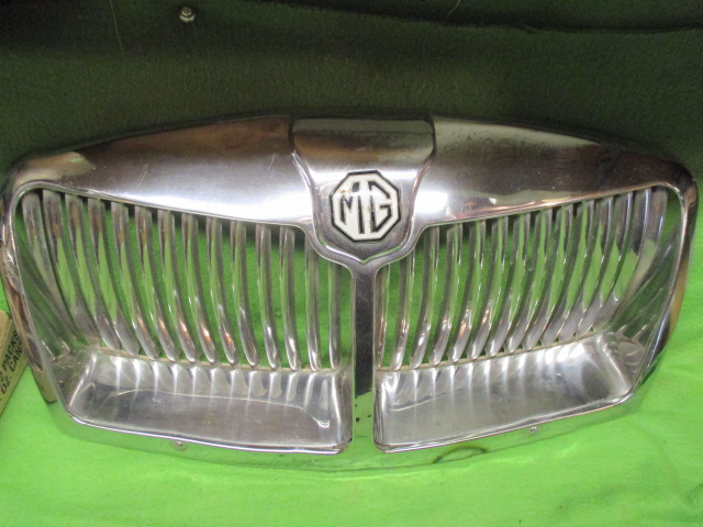 Chrome-Plated Brass Grille, MGA Mark II, Original