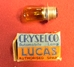 Cryselco LHD 42/36w Amber BPF Headlight Bulb Pair - RM01097