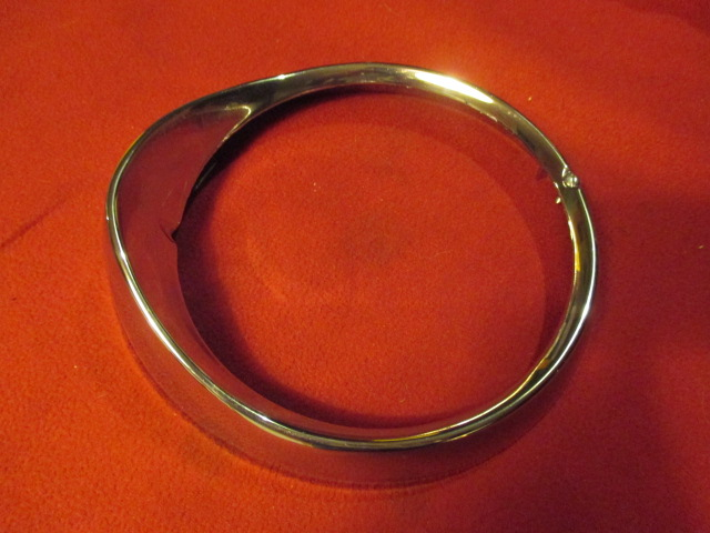 Headlamp Rim, Austin A40, Cambridge, Morris Oxford NOS Original head lamp, headlight, head light