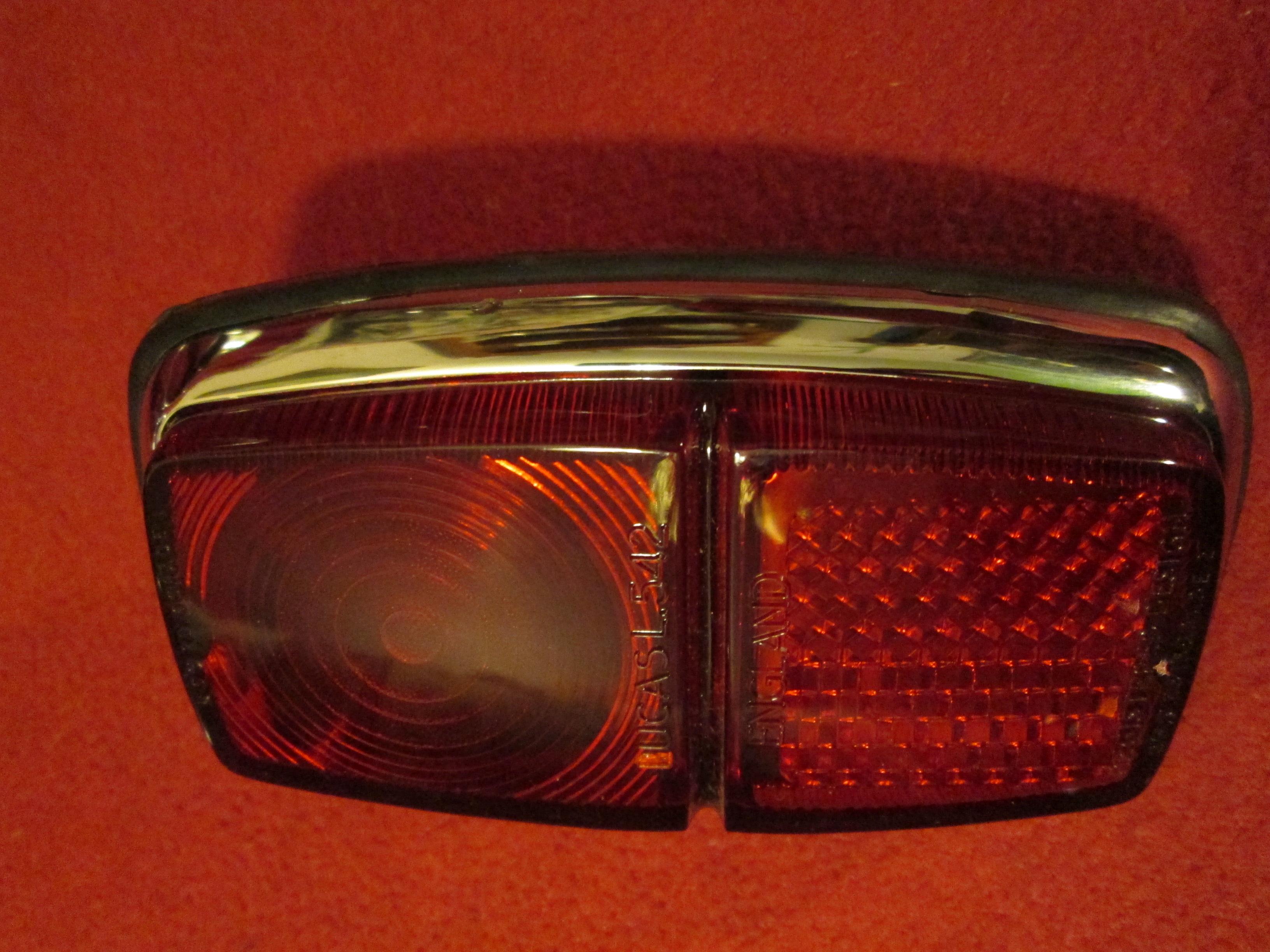 Lucas L542 Cobra Tail Lamp, New   RM01184 ...