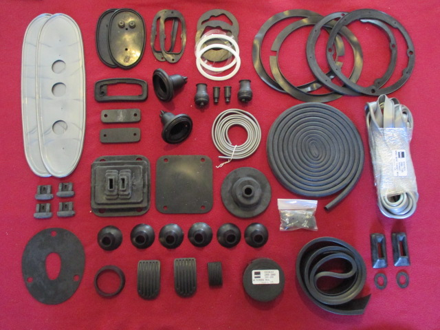 MGA 1600 Body Rubber Kit
