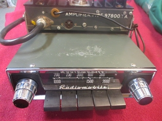Nice Radiomobile 400T Radio, Original