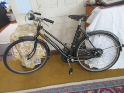 Raleigh Superbe Lady's Three-Speed Bicycle, 1958, Original