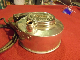 Sirram Electric Car Kettle, 1950s or 60s, NOS