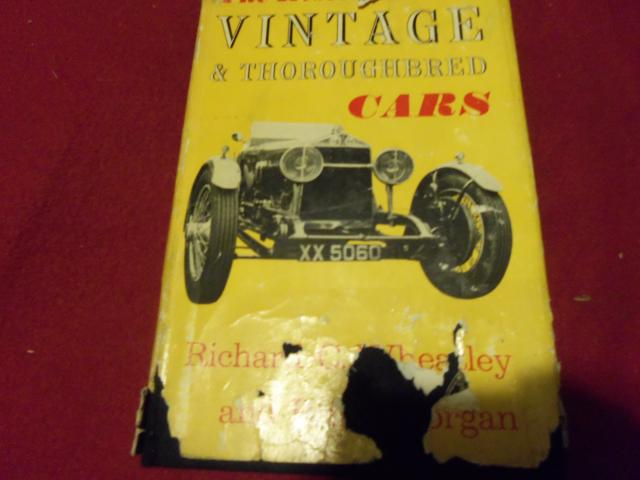The Restoration of Vintage and Thoroughbred Cars, Morgan and Wheatley, Original