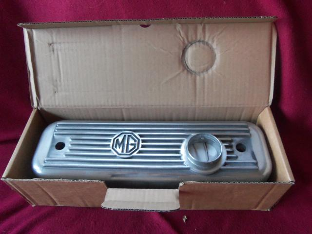 Alloy Valve Cover, MGA, MGB, New