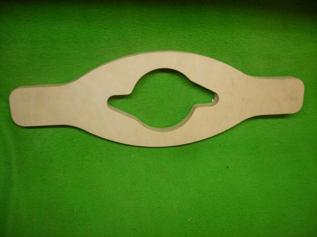 Plywood 52 mm Knock-off Wrench, Jaguar, New