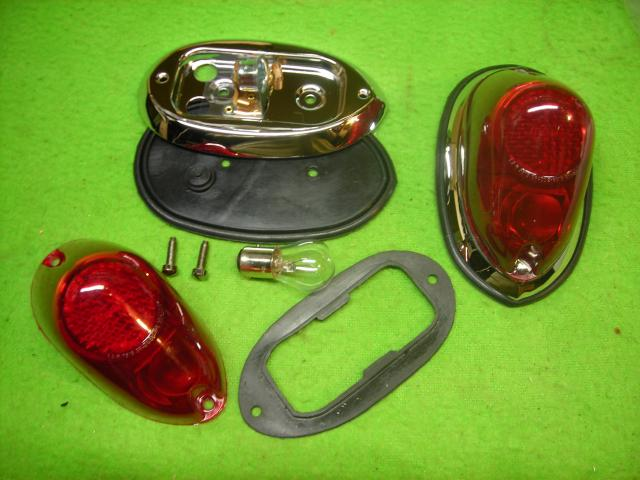 Lucas L549 Rear Lamp Pair, New
