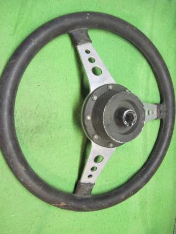 Moto Lita Leather Steering Wheel Mg Midget Mga Mgb