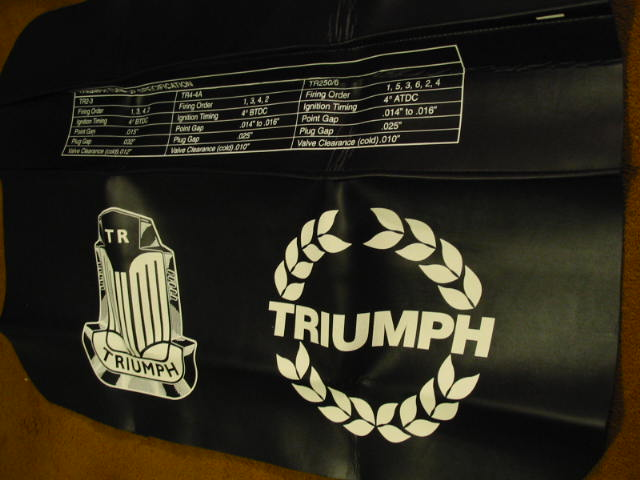 Fender Cover, Triumph, New