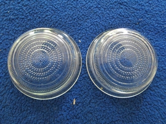 Lucas-Style L488 Flat Glass Lens Pair, New