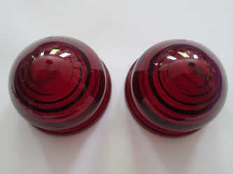 Lucas-style L594 Red Beehive Lens Pair, New