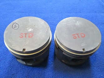 B20 Pistons, Volvo, 2 only, NOS