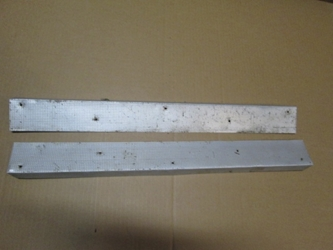 Door Sill Cover Plate Pair, Volvo P1800, 1800S, 1800ES, Original