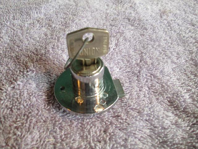Glovebox Door Lock, Jaguar Mark 2, NOS