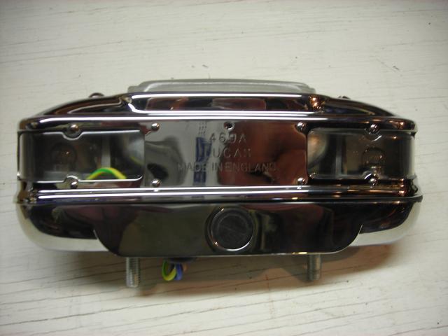 Lucas L469 License Lamp New Rogers Motors