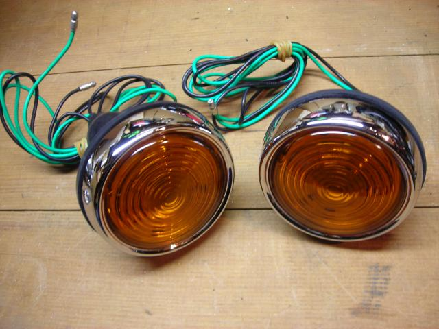 "Lucas L563 Lamp Pair, New ""Lucas directional lights"" ""Lucas indicator lights"" ""Lucas turn signal lights"" Lucas directional lamps"" ""Lucas indicator lamps"" ""Lucas turn signals"""