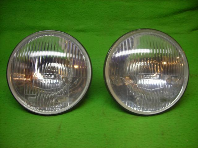 Lucas Le Mans Headlamp Pair, New head lamp, headlight, head light