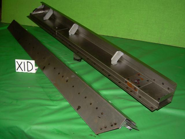 Sill Assembly Pair, Jaguar XK140 FHC, #X1D, New