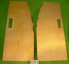 Wood Floor Pair, Jaguar XK120 OTS, #XW1, New