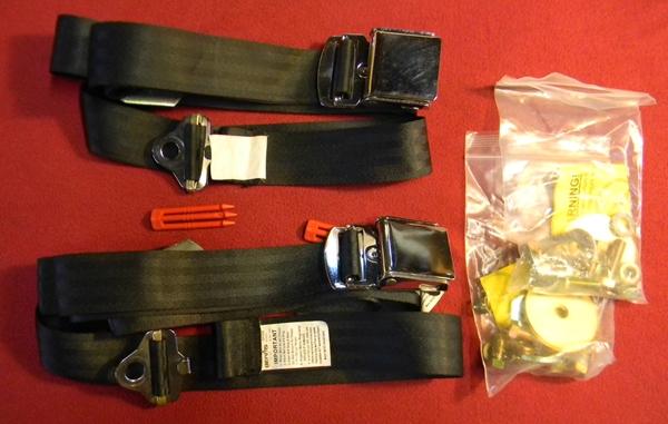 Pair Seatbelts 222 216 Rogers Motors