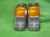 Lucas L677 Front Directional Park Side Lamp Pair, 1968-69 MGB, New