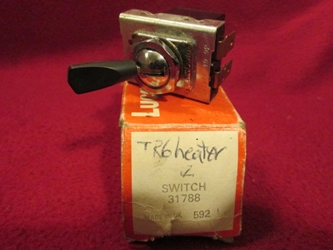 Lucas 31788 3-position Toggle Switch, NOS