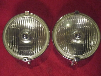 Lucas FT10 Nova Foglamp Pair, Original fog lamp, foglight, fog light