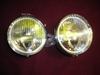 Lucas Fogranger Back-mount Foglamp Pair, Jaguar Mark 2, new fog lamp, foglight, fog light