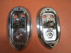 Lucas L549 Rear Lamp Pair, Original