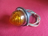Lucas L639 Amber Lamp, Land Rover, NOS