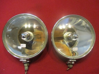 Lucas SLR700 Driving/Spotlamp Pair, Excellent Original driving lamp, driving light, spot lamp