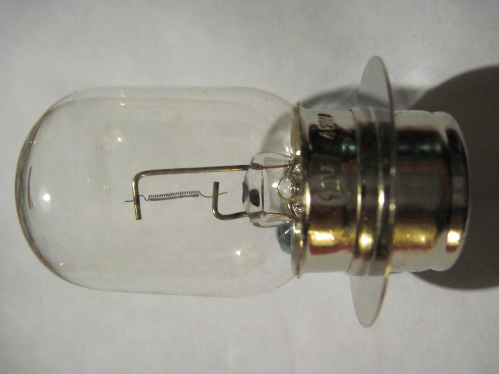 Lucas Style Llb185 Bpf Base Driving Spotlamp Bulb New