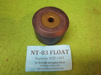 Nitrophyl Float, SU Carburetor