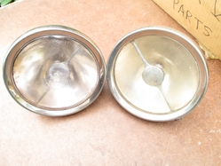 Prewar English Ford Y 8 Headlamps Original