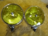 RARE Yellow Lucas SFT700S Foglamp Pair, Excellent Original fog lamp, foglight, fog light