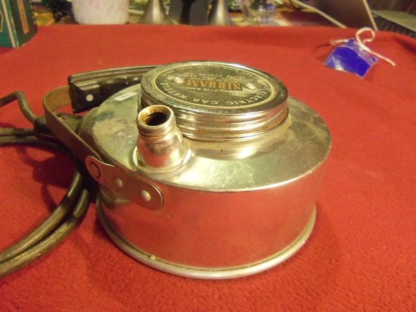 Sirram Electric Car Kettle 1950s Or 60s Nos Rogers Motors