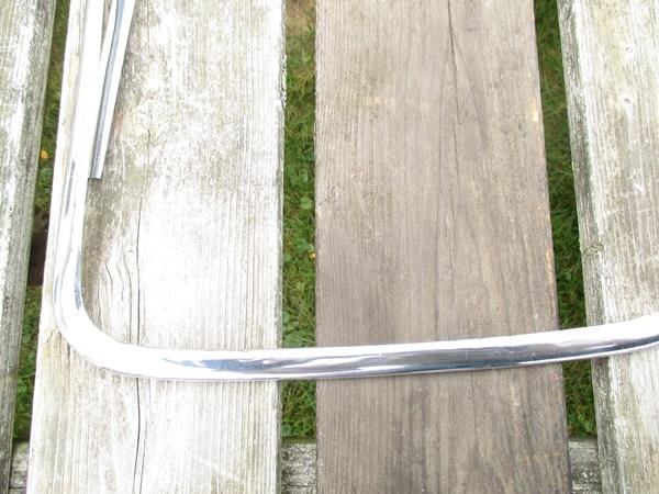 Windscreen Chrome Surround, Jaguar MK VIII, IX (NOT Mark VII)