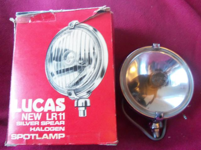 Lucas FT11 Foglamp, NOS fog lamp, foglight, fog light
