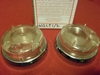 Lucas L632 Clear Lens and Rim Pair, Early Style, NOS