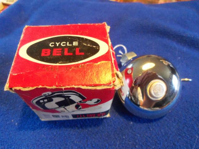 Lucas-style Bicycle Bell, NOS