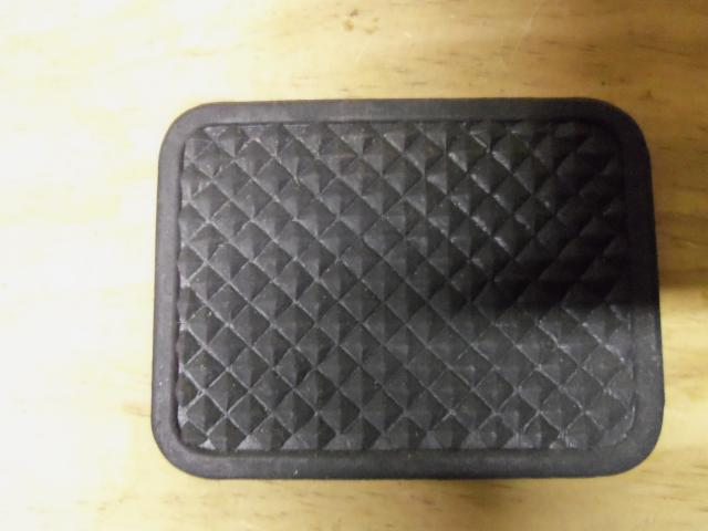 Pedal Pad Rubber, BMW 1600, 2002, NOS