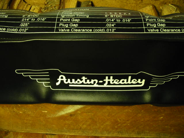 Fender Cover, Austin-Healey, New