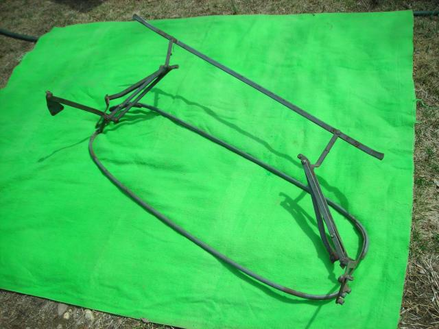 Folding Top Frame, MGB, Original