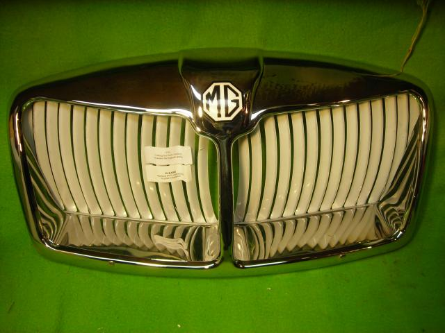 Chrome-Plated Brass Grille, MGA Mark II, New